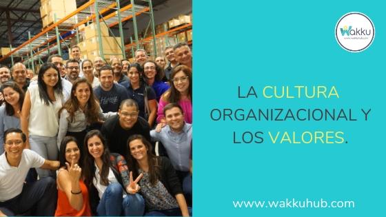 La Cultura Organizacional y los Valores.